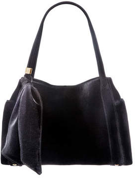 Eric Javits Velvi Framed Top Shoulder Bag