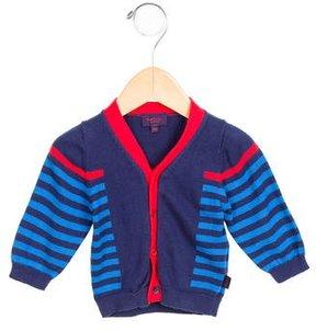 Paul Smith Boys' Striped Button-Up Cardigan