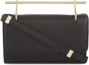 M2Malletier Fabricca Black Leather Bag