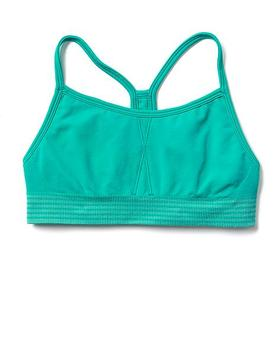 Athleta Girl Striped Tracker Bra