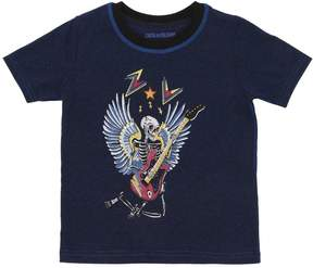 Zadig & Voltaire Skeleton Printed Jersey T-Shirt