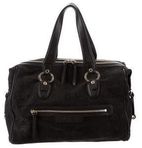 Bvlgari Monogram Bowler Bag