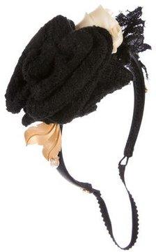 Dolce & Gabbana Embellished Satin Headband