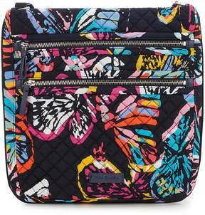 Vera Bradley Iconic Triple Zip Hipster Cross-Body Bag