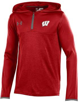Under Armour Boys 8-20 Wisconsin Badgers Tech Hoodie