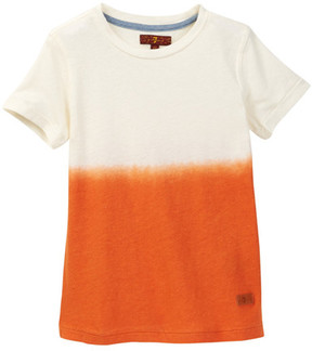 7 For All Mankind Crew Neck Tee (Toddler Boys)