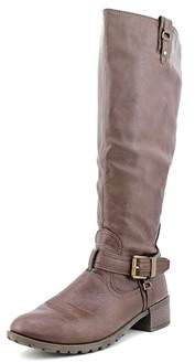 Rampage Womens Idera Almond Toe Knee High Fashion Boots.