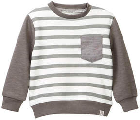 Sovereign Code Seen Striped Sweatshirt (Baby Boys)