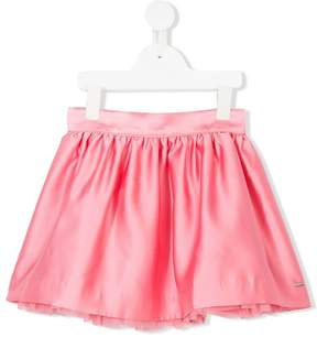 Tommy Hilfiger Junior tulle lined pleated skirt