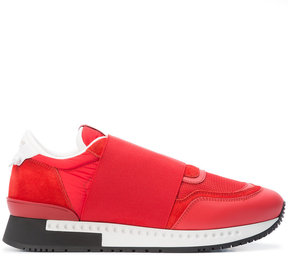 Givenchy band strap sneakers