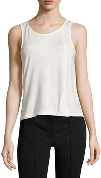 Lot 78 Lot78 Women's Cashmere Split Tank
