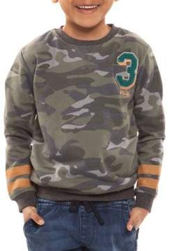 Dex Little Boy's Long-Sleeve Camo Sweatshirt