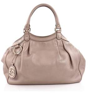 Gucci Pre-owned: Sukey Tote Leather Medium. - PINK - STYLE