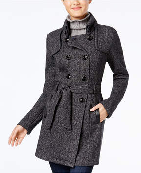 BCX Juniors' Double-Breasted Peacoat