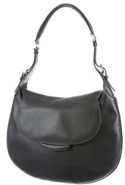 Valextra Textured Leather Hobo