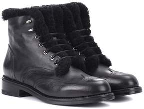 Rag & Bone Cozen shearling-lined leather boots