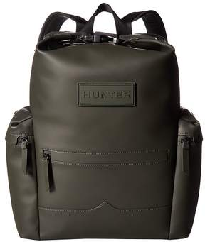 Hunter Original Rubberized Leather Backpack Backpack Bags