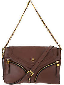 Oryany Pebble Leather Convertible Crossbody-Lily