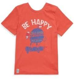 Catimini Little Boy's & Boy's Cotton Be Happy T-Shirt