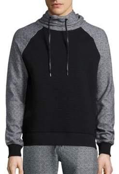 Madison Supply Mixed Media Sweatshirt