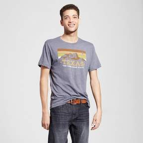 Awake Men's Texas Guadalupe T-Shirt - Charcoal Gray