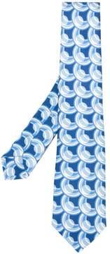 Kiton casual printed tie