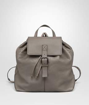 Bottega Veneta Backpack In Steel Cervo