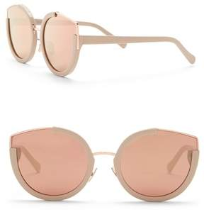 Cat Eye SUNDAY SOMEWHERE Nay Nay 60mm Sunglasses
