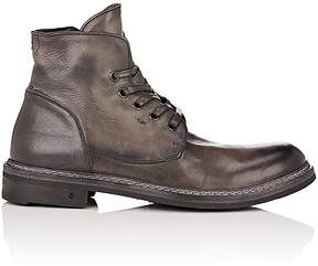 John Varvatos Men's Ellis Leather Lace-Up Ankle Boots