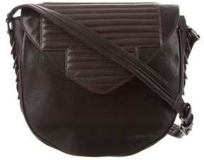 Reece Hudson Leather Crossbody Bag