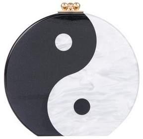 Edie Parker Yin Yang Oscar Clutch
