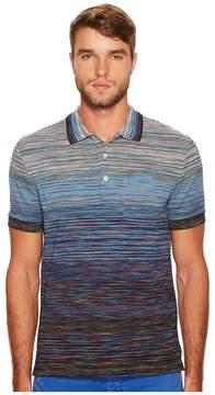 Missoni Sfumato Short Sleeve Polo Men's Clothing