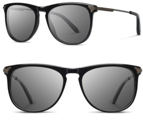 Shwood Men's Keller 53Mm Sunglasses - Black / Grey