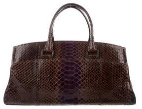 VBH Snakeskin Shoulder Bag