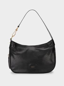 Donna Karan Donnakaran Randall Hobo With Oversized Dog Leash Detail