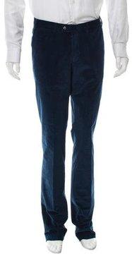 Hiltl Flat Front Corduroy Pants