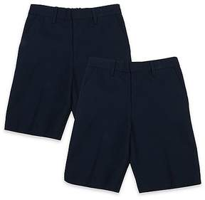 Marks and Spencer 2 Pack Boys' Slim Leg Shorts