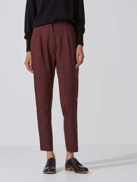Frank and Oak The Grant Wool-Gabardine Trouser in Chocolate