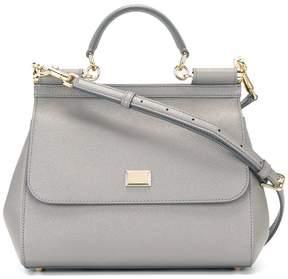 Dolce & Gabbana medium Sicily shoulder bag - GREY - STYLE