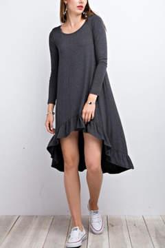 Easel Grey Dress