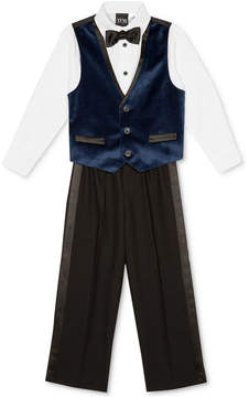 Nautica 4-Pc. Shirt, Vest, Pants & Bowtie Set, Little Boys (4-7)