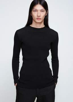 Ann Demeulemeester Pima Thermal Crew Knit