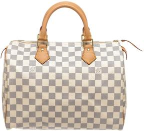 Louis Vuitton Speedy cloth satchel - GREY - STYLE