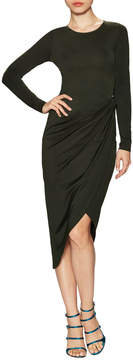 Donna Mizani Women's Asymmetrical Knot Sheath Dress