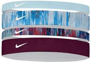 Nike 4-pk. Assorted Skinny & Thick Headband Set