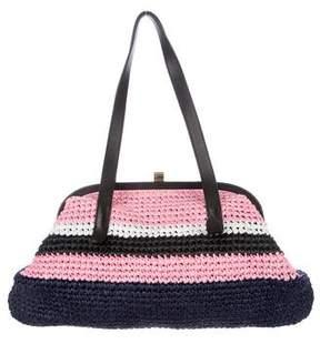 Marni Woven Straw Bag