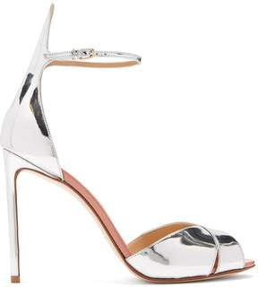 Francesco Russo Crossover leather sandals