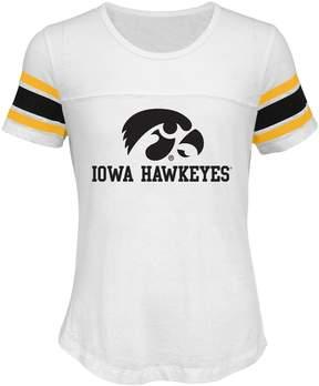 NCAA Girls 7-16 Iowa Hawkeyes Team Pride Burnout Tee