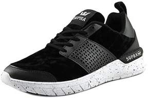 Supra Scissor Round Toe Leather Skate Shoe.