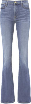 Frame Le High Flare Blue Jeans